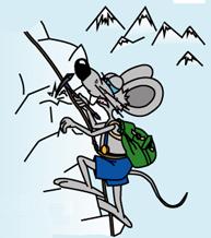 Мышь альпинист