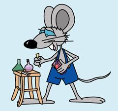 Мышь химик