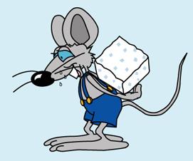 Мышь с сахаром